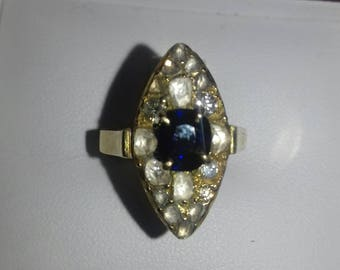 Fantastic Antique Georgian Diamond Ring