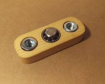 Handmade Wooden Sensory Toy (Straight Fidget Spinner)