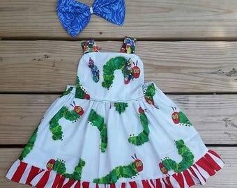 Caterpillar dress #1