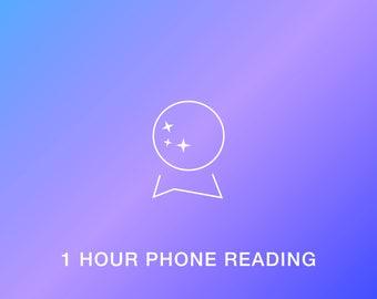 1 Hour Tarot Card Reading (PHONE)