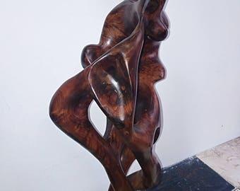 beautiful thuya wood sculpture