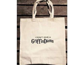 GriffinDamn tote bag