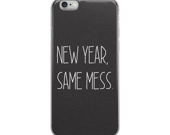 Ships Very Fast! iPhone Case, iPhone 6/6s, iPhone 6plus/6splus, iPhone 7/8, iPhone 7plus/8plus, Cute, Funny, Phone Case, New Years, Girly