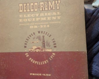 1957 telco-Remy electrical equipment handbook DR-324