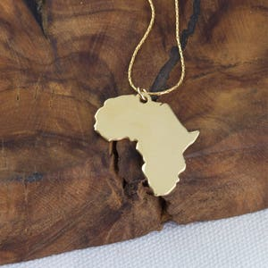Africa map necklace etsy africa necklace african pendant africa charm travel necklace world map necklace gumiabroncs Image collections