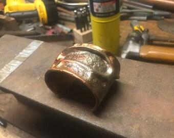 """2"""" Copper Veined Cuff"""