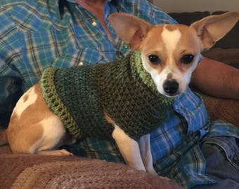 Dog Sweater Made To Order