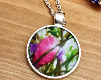 Hawaiian Flower Pendant