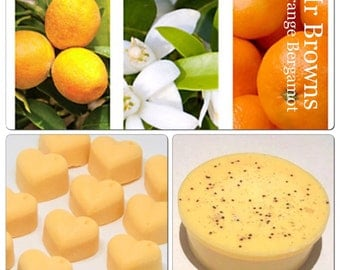 3 orange bergamot perfume soy wax melts, molton brown scents, designer dupe melts, strong wax melts, cheap wax melts, best wax melts