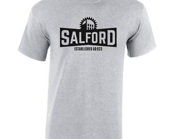 Heather Grey T-Shirt (Salford)