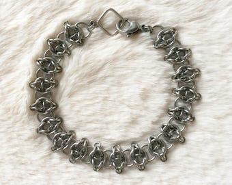 Celtic Visions Stainless Steel Bracelet