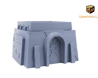 Star Wars Legion | Terrain | Wargaming | Tatooine Style Small Desert House C | Tabletop Terrain | RPG | PrinTerrain