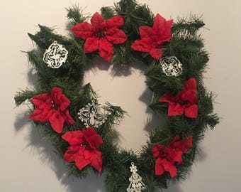 Hand Crafted Christmas Wreaths