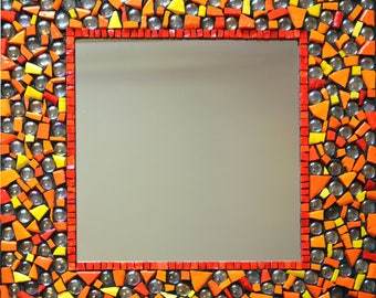 Mirror in mosaic
