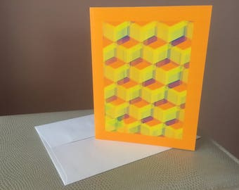 Original Computer Art - Blank Note Cards