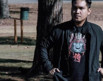 Samurai Clan - Band t-shirts - Unique t shirt - art tshirt - punk clothing for men - streetwear