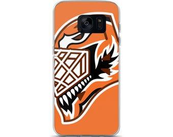 "Orange ""92"" Goalie Mask Samsung Case"