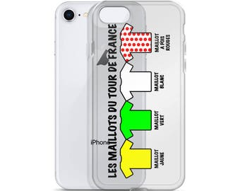 Jerseys of the Tour De France, Cycling iPhone Case