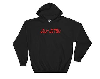 Jiu-Jitsu Hoodie - Bjj Brazilian Jiu-Jitsu Hoodie Martial Arts Hooded Sweatshirt