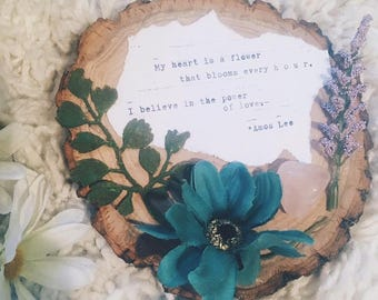 Poetry Wall Hanging