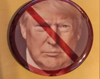 No To Trump 2.25 Inch Wearable Button