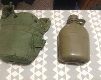 US Military Canteen and Cover