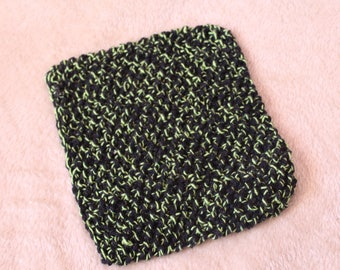 SAVE 25%! Set of 4 Hand-Knit Cotton Dishcloths