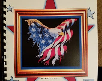 American Eagle cross stitch