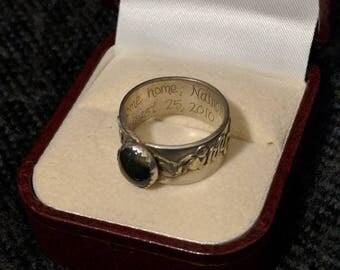 Men's Gemstone Ring