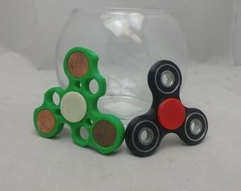 3D printed fidget spinners