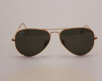 Ray Ban (Aviator) Sunglasses with case