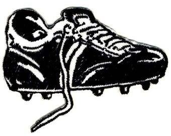 Soccer Shoe SOCCER-patch appliqué application badge-New #9099