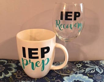 Wine Glass & Mug Set