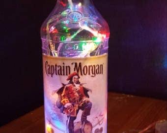 Rum bottle light