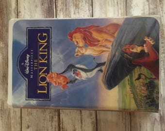 Lion King Masterpiece Collection VHS #2977