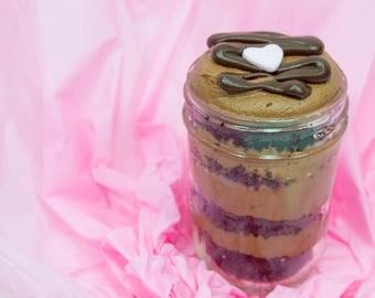 3 (8 Oz) Sugar Rush Cupcakes in a Jar!