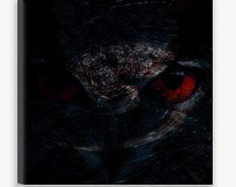 Original Canvas Print: 'The Watcher II' | *FREE SHIPPING*