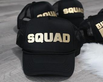 Custom Trucker Hat,Bachelorette Trucker Hat,Squad Trucker Hat,Birthday Trucker Hat,Women Trucker Hat.Birthday Women Hat,Birthday Squad Hat