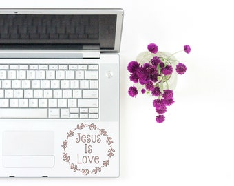 Faith Vinyl Decal, Christian Decal, Christian vinyl decal, Laptop Decal, Laptop Sticker, Computer Sticker, Faith Sticker, Faith Vinyl, Jesus