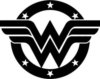 Wonder Woman Svg Etsy