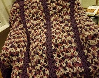 Bulky Crochet Blanket