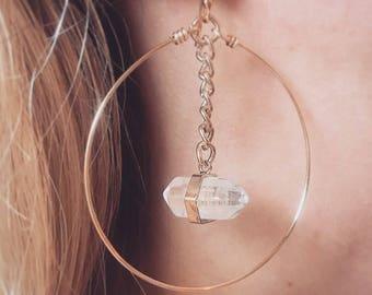 Crystal chain hoop
