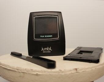 High-Resolution 35mm Film Negative Scanner