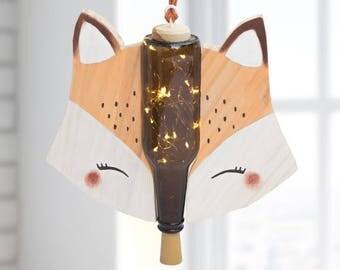 MINI FOX lamp-Children and babies lamp-children's decor-rail lamp-Led