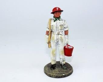 Bombero, Fireman, Pompier auxiliaire Singapour 1941 Del Prado 1/32 BOM 044