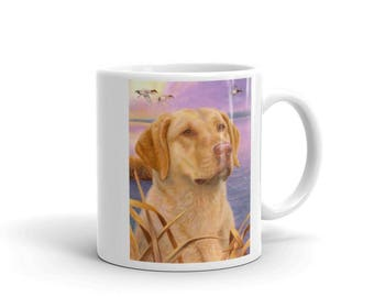 Dawn Patrol Chesapeake Bay Retriever 11oz Coffee Mug