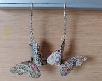 Butterfly Origami Earrings
