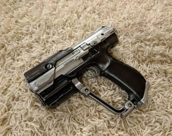 Modded Nerf Gun BoomCo M6 Halo Inspired Cosmetic Modded - for cosplay or display prop blaster