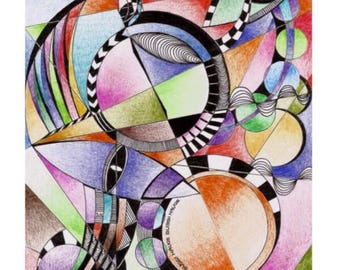 Abstract colorful geometry