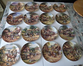 Complete Chris Howells Country Days plate Collection